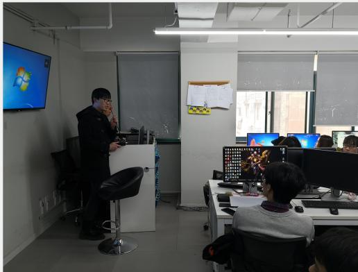 杭州剑魂来杭州火星时代拜访,双方探讨合作招聘事宜